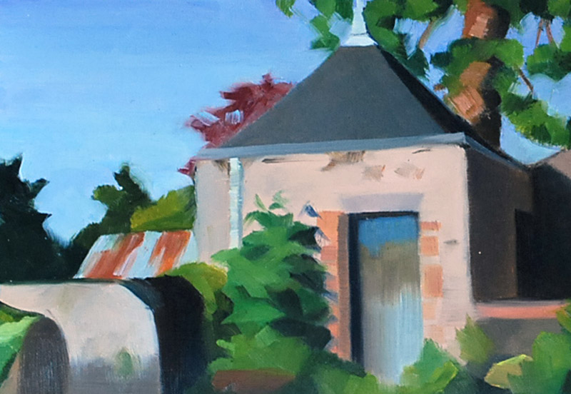 The Little House behind Les Sylvain