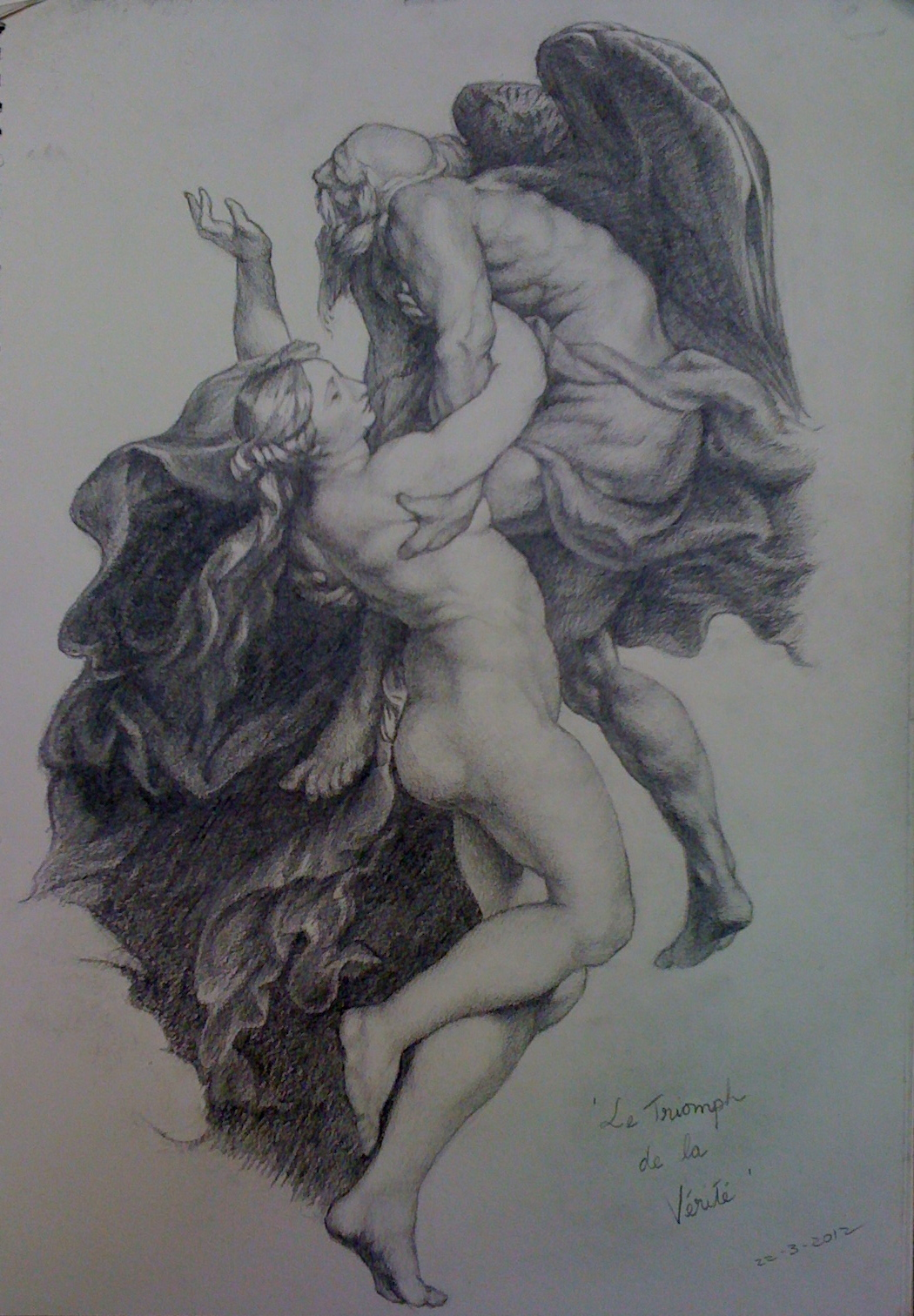 The Triumph of Truth -after PP Rubens