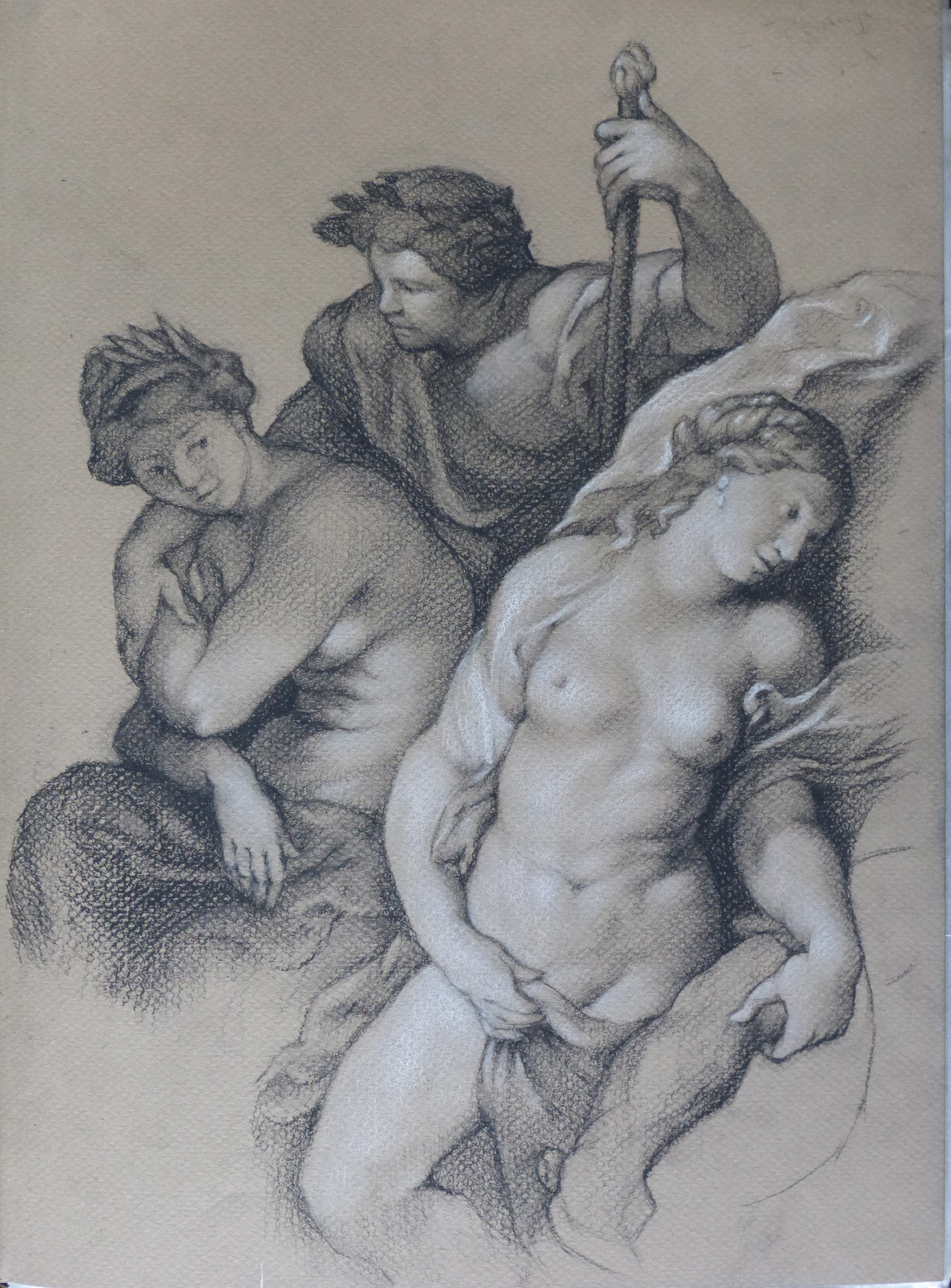 Deities Three -after PP Rubens